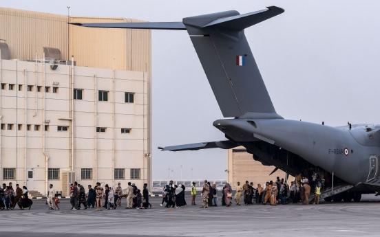 South Korea set to accept 391 Afghan evacuees Thursday