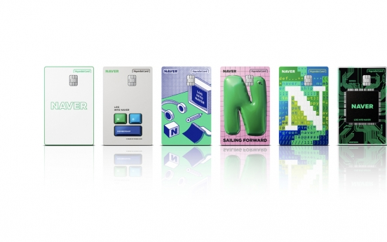 Hyundai Card launches credit card with Naver