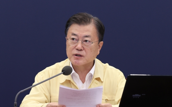Moon says S. Korea has shown its dignity by embracing Afghan evacuees