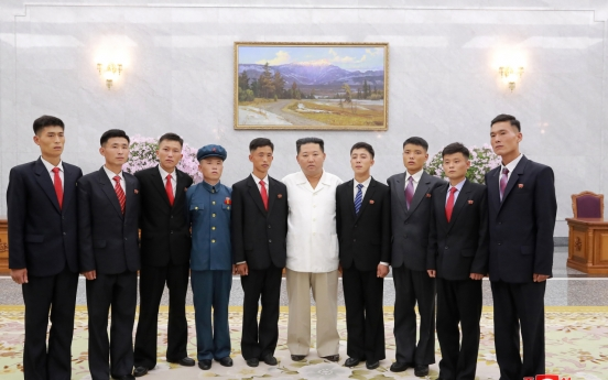 N.Korea leader urges young ex-convicts to become 'kindling spark' for national development