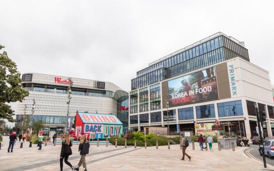 Promotional videos of Korean food screened in London
