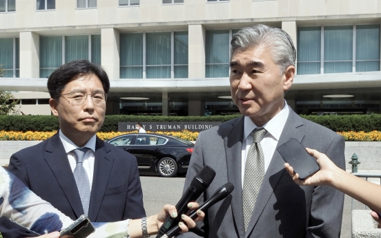 S. Korea, US envoys discuss humanitarian aid for NK, nuclear issue