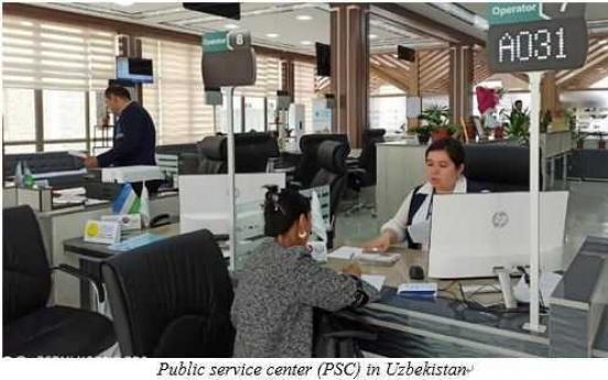 Uzbekistan is reforming rendering public services system