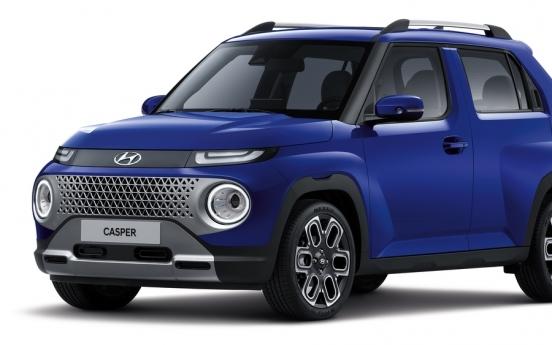 Hyundai unveils mini SUV Casper