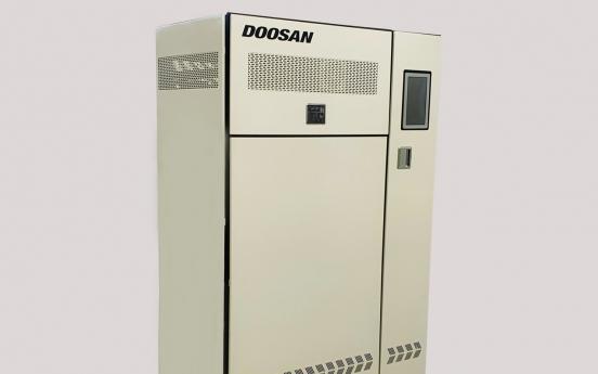 Doosan unveils industry's most efficient fuel cells for homes, buildings