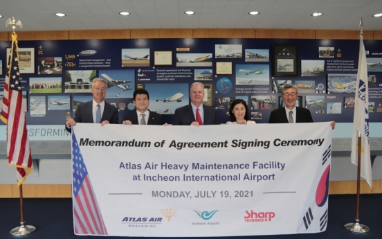 Incheon Airport to get new aircraft maintenance facility