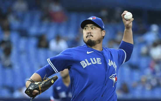 Another crooked number, another loss for Blue Jays' Ryu Hyun-jin