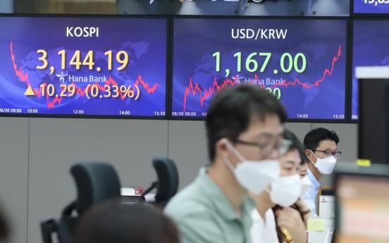 Seoul stocks snap 4-day winning streak on profit-taking