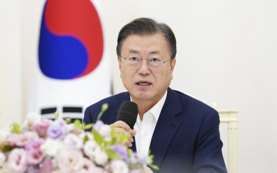 Moon asks new parliament to support budget bill
