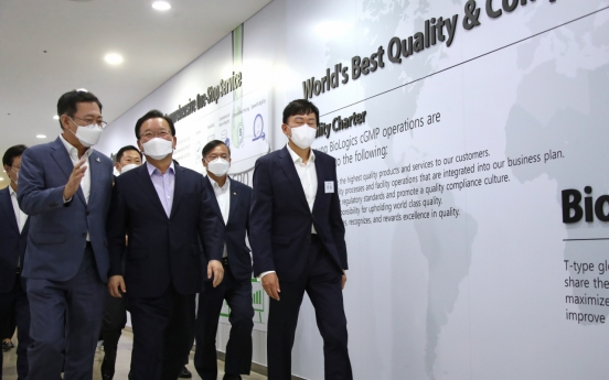 PM visits Samsung Biologics, but keeps quiet on availability of Moderna doses