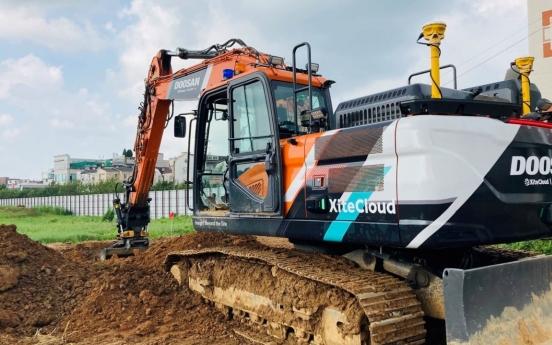 Doosan Infracore wins excavator orders from Egypt