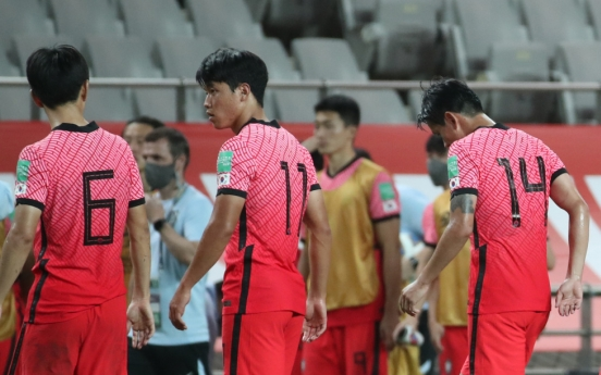 S. Korea chasing 1st win of final World Cup qualifying round vs. Lebanon
