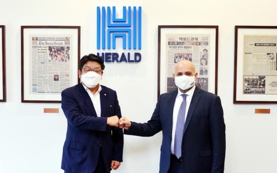Kuwaiti ambassador makes a courtesy visit