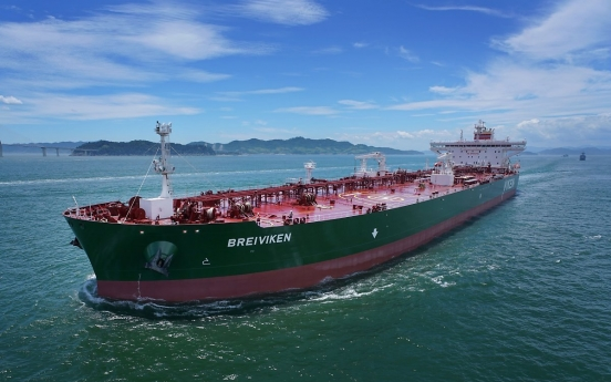 S. Korea maintains No.1 spot in new shipbuilding orders for 4th month
