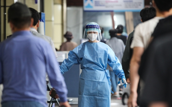New cases bounce back to near 1,600; virus resurgence in wider Seoul worrisome
