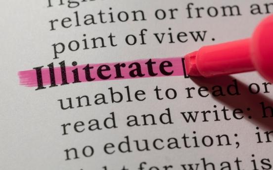 Nearly 2 million Korean adults illiterate: survey