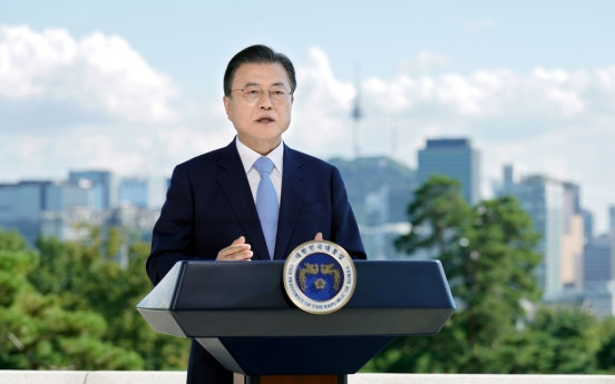 S. Korea to more than double solar, wind energy facilities by 2025: Moon