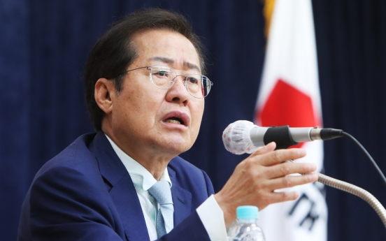 Hong Joon-pyo rises to break Yoon's grip on party primary