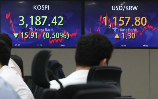 Seoul stocks slump amid US tapering uncertainties
