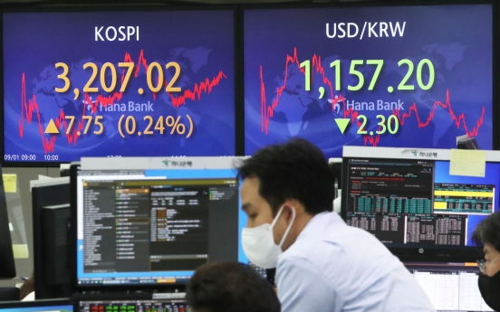 Seoul stocks down for 2nd day on tech regulation concerns