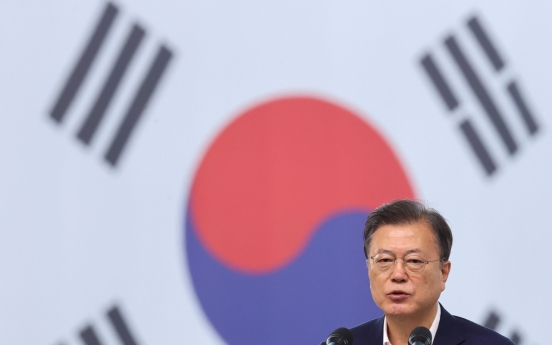 Moon expresses sympathy to Biden, American people on 9/11 anniversary