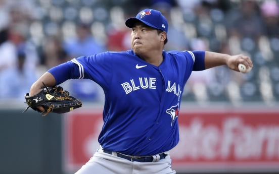 Blue Jays' Ryu Hyun-jin torched by Orioles in shortest start of season