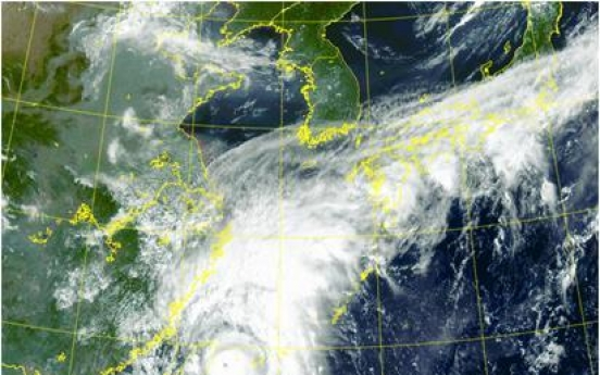 Typhoon Chanthu forecast to affect S. Korea this week