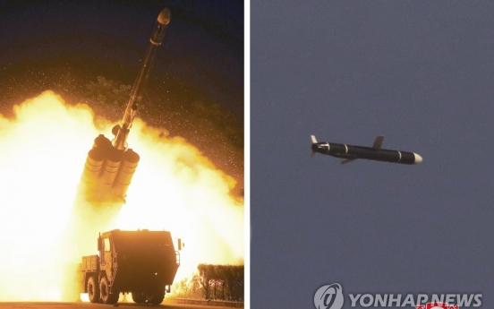 N. Korea test-fires new long-range cruise missiles: state media