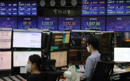 Seoul stocks open nearly flat on US stock slump