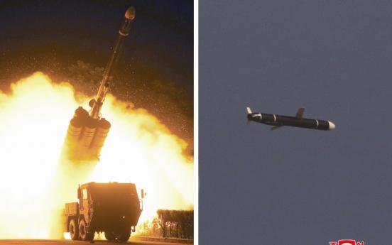 North Korea test-fires new long-range cruise missiles