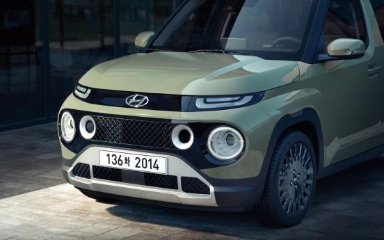 Hyundai accepts early orders for mini SUV Casper