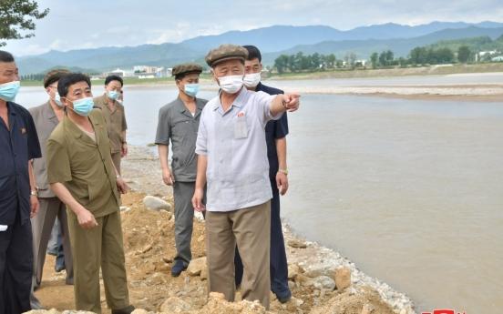 N. Korea calls for speedy recovery efforts in flood-hit eastern regions