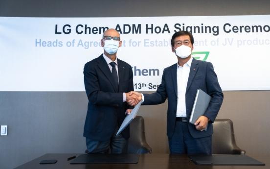 LG Chem to produce 75,000 tons of corn-based bioplastic in US