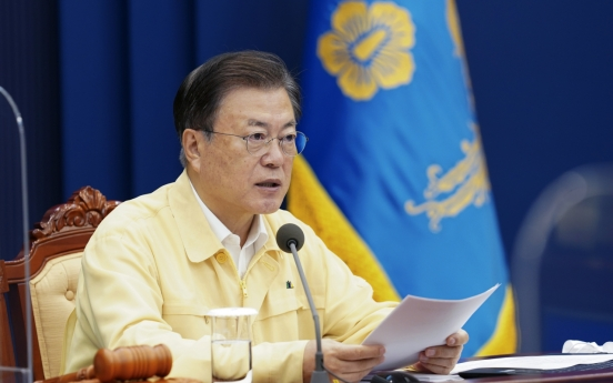 Moon says 70% of S. Koreans to be vaccinated by this week