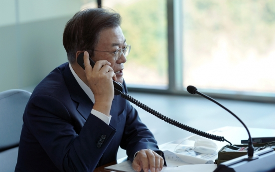 Moon says S. Korea's SLBM development can be deterrent to N. Korean provocation: Cheong Wa Dae