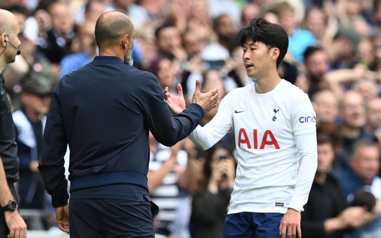 Injured Son Heung-min to miss Tottenham's upcoming continental match