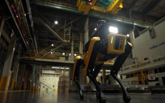 Hyundai, Boston Dynamics unveil factory safety robot
