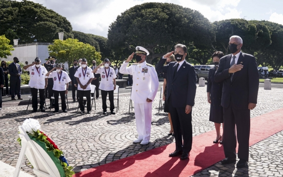 Moon awards medals to Korean immigrants in Hawaii for fight against Japan's colonization