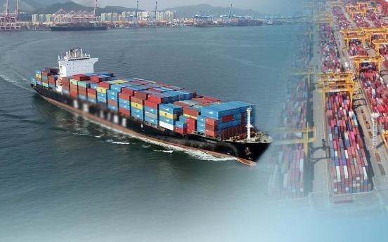 S. Korea's seaport cargo up 8.7% amid global economic recovery