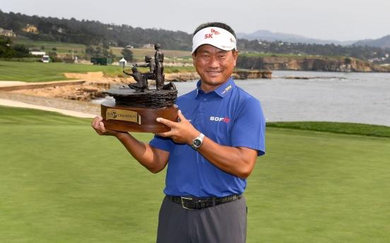 Korean K.J. Choi wins PGA's senior golf tour event