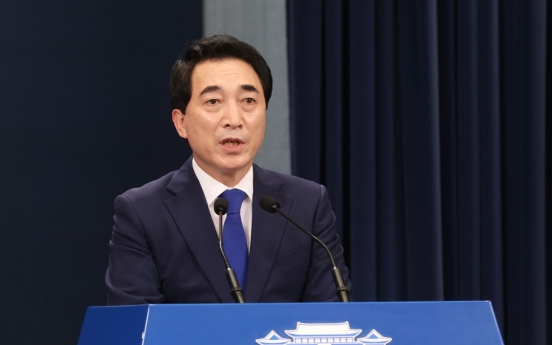 Cheong Wa Dae says inter-Korean communication lines should be back in operation first