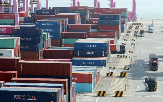 Exports expected to rise 15% in Sept. on chips, autos: poll