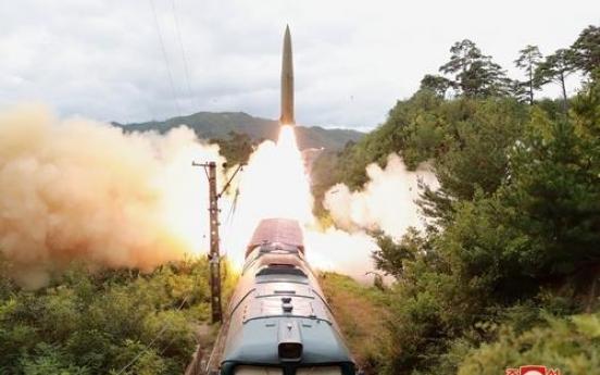 NK fires missile, blames US 'hostile policy'