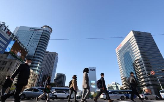 S. Korea's biz sentiment rebounds on hopes of easing restrictions