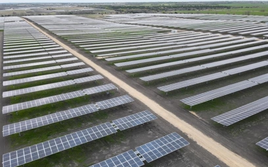 Hanwha Q Cells' solar power plant in Texas comes online