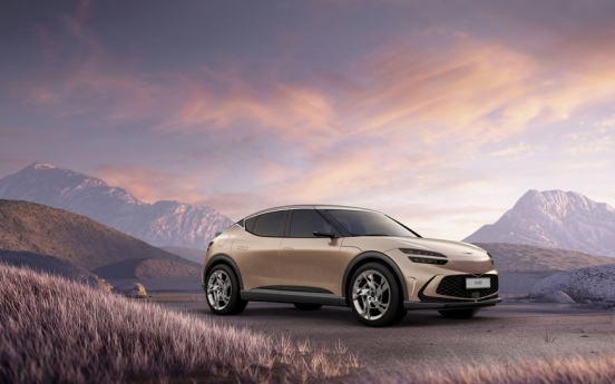 Genesis unveils GV60 electric SUV with facial recognition