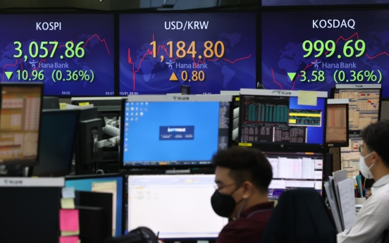 Seoul stocks open lower on US inflation woes