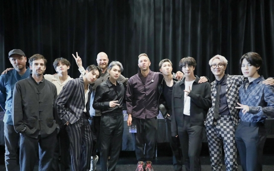 BTS-Coldplay collaboration 'My Universe' debuts at No. 3 on British Official Singles Chart