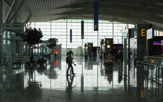 Incheon airport's daily passenger number drops below 10,000 in Sept.