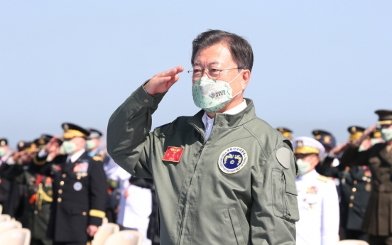 Moon says S. Korea should take pride in latest missiles